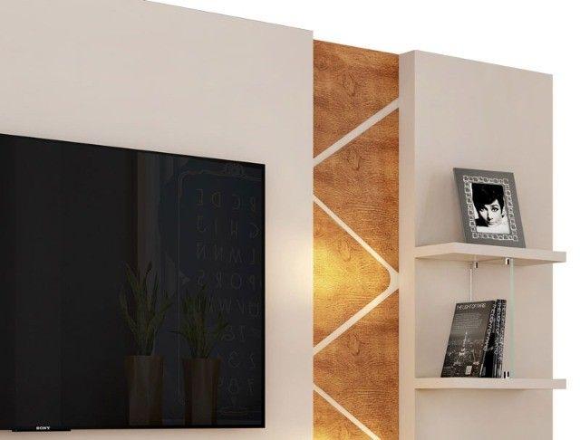 """Home Estante Cross com LED para Tv até 55"""" - Entrega Grátis e Imediata p/ Fortaleza - Foto 4"""