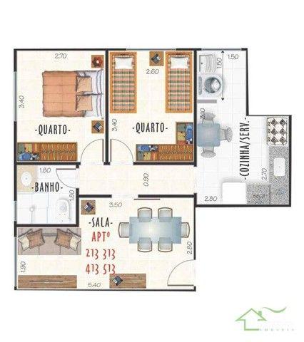Apartamentos com 2 dormitórios à venda, a partir de R$ 219mil - Centro - Juiz de Fora/MG - Foto 4