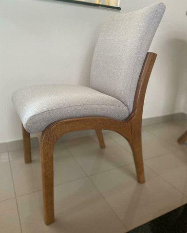 Mesa madeira + 8 cadeiras modelo Sabrina  - Foto 2