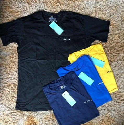 3 camisas básicas por R$120,00 - Foto 4