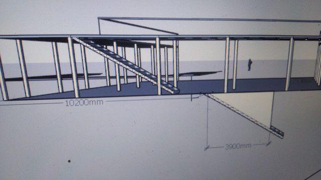 Fabricacão e montagem de estruturas metálicas  - Foto 6