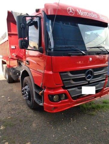 Mercedes  Atego  2426  6x2  Caçamba  2013 - Foto 3