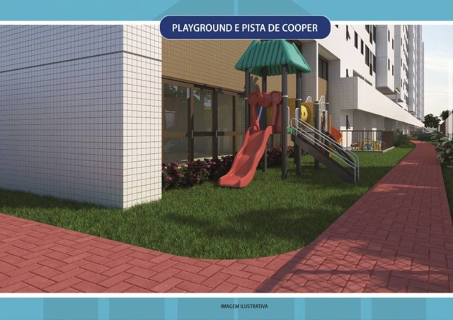 AF - Oportunidade -Lançamento de condomínio clube - Residencial Luar do Parque - 3 quartos - Foto 9