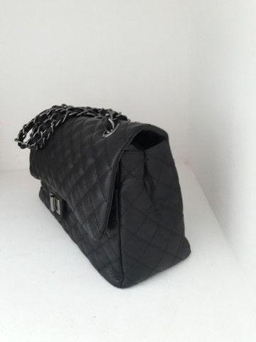 Bolsa feminina nova couro legítimo cores  - Foto 4