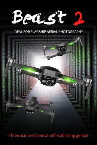 Drone Sg906 Pro 2 Camera 4k Gimbal 3 Eixos Lançamento 100% original - Foto 5