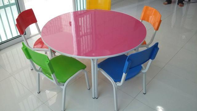 Cadeiras escolar polipropileno , conjuntos pré escolar * zap - Foto 5