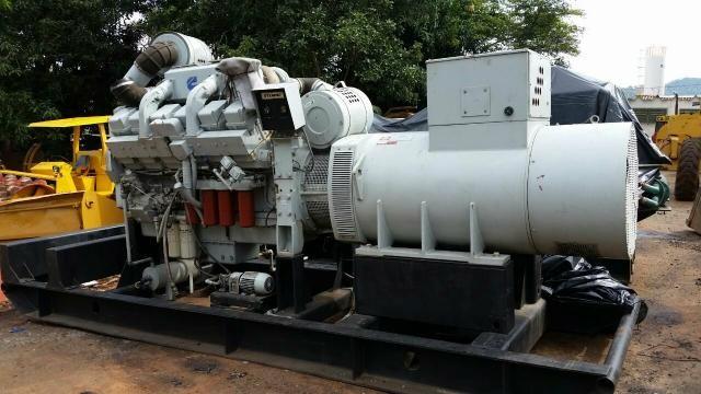 Grupo Gerador stemac 950 kva Motor cummins KTA38 - Foto 5