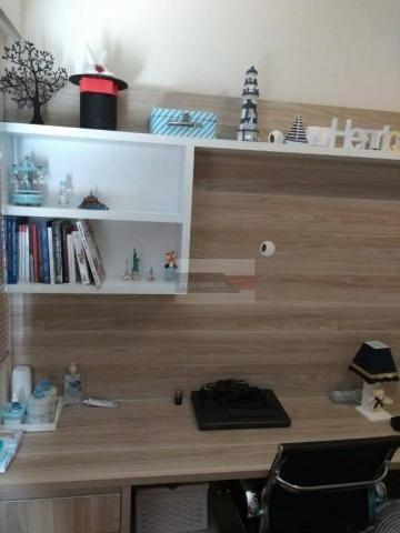 Apartamento com 2 dormitórios à venda, 75 m² por r$ 450.000 - jardim das indústrias - são  - Foto 10