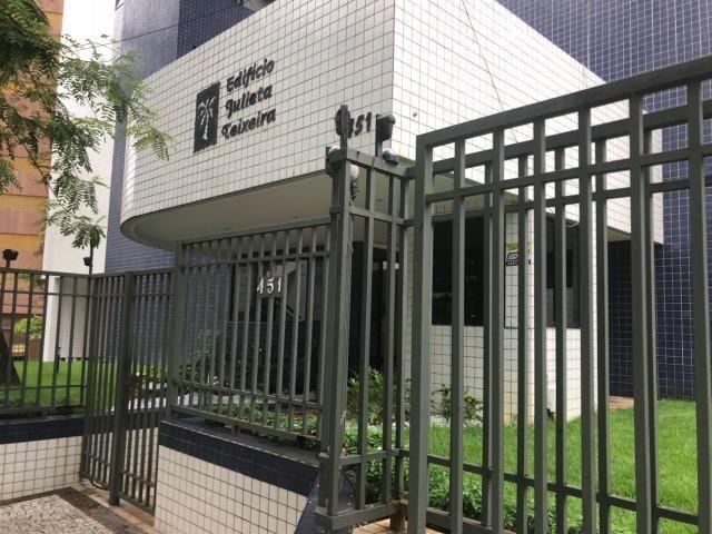 Ed. Julieta Teixeira, 60m2, Projetado, Nascente, 2 Qtos, 1 Vaga, 3 Qds da Beira Mar - Foto 2