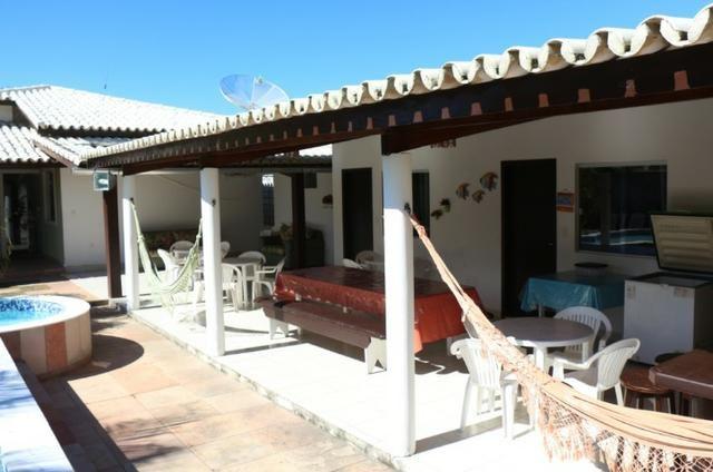 Novembro, feriado em casa de praia, com 5 quartos, piscina e churrasqueira - Foto 17
