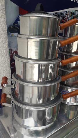 Panelas cabuda alumínio Grosso