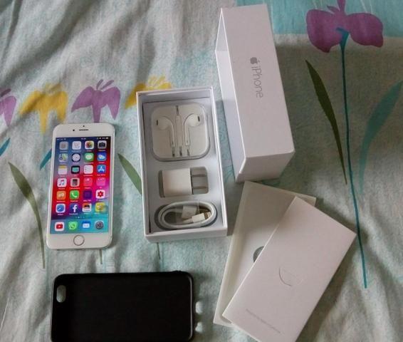 Iphone 6 64gb (películas frente e atrás)
