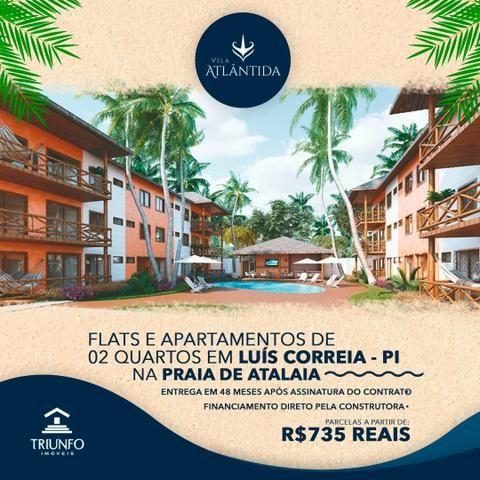 FN - Flats e Apartamentos de 2 quartos em Luís Correia/ A partir de R$ 99 mil