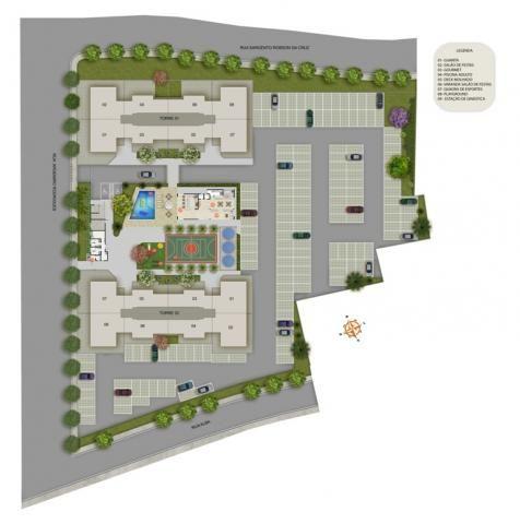 Apartamento à venda com 3 dormitórios em Caiçara, Belo horizonte cod:39861 - Foto 2