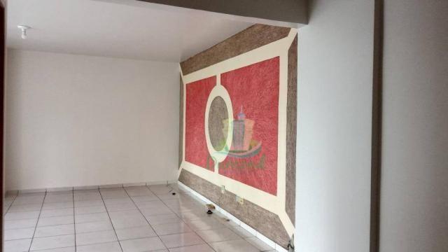Apartamento com 2 dormitórios para alugar, 96 m² por R$ 1.500/mês no Centro em Foz do Igua - Foto 2