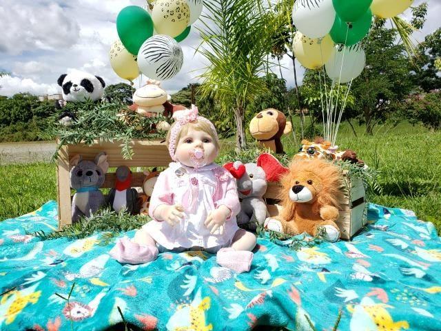 Bebê Reborn - Acessórios Exclusivos! - Foto 4