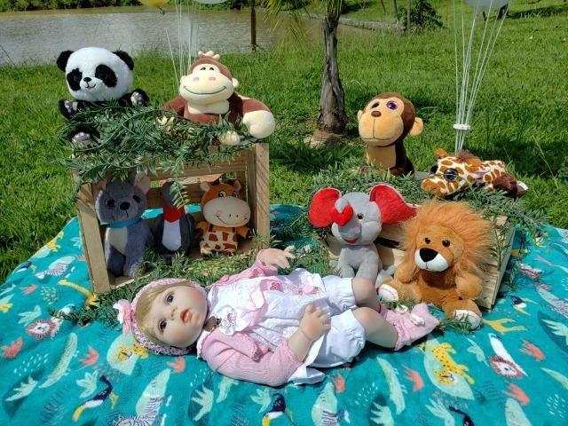 Bebê Reborn - Acessórios Exclusivos! - Foto 6