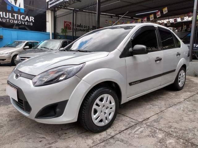 Fiesta sedan 2012 1.6 completo com gnv - Foto 2