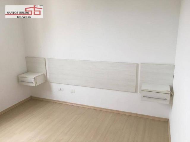 Apartamento com 3 dormitórios para alugar, 80 m² por R$ 2.200/mês - Barro Branco (Zona Nor - Foto 3