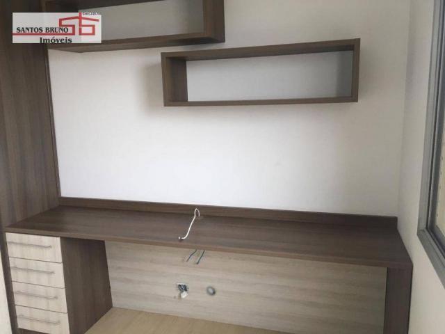 Apartamento com 3 dormitórios para alugar, 80 m² por R$ 2.200/mês - Barro Branco (Zona Nor - Foto 17