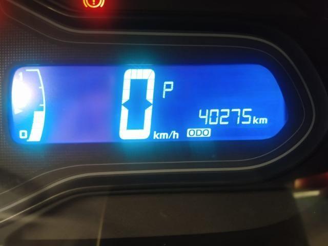 Onix Hatch Lt 1.4 Automatico Flex 8v 2018 Vermelho Un Dona ! - Foto 5