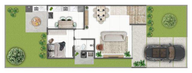 Casa de 4 Suítes (Uma Mstrer com Closet e Varanda) - Bairro Sim - Foto 7