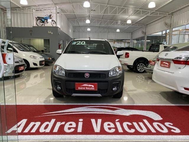 Fiat Strada 1.4 Freedom CD Três Portas (Flex) Completa Zero Km 2020 - Foto 4