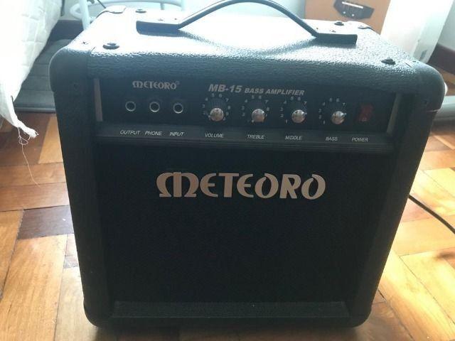 Cubo amplificador para Baixo Meteoro MB 15 novo