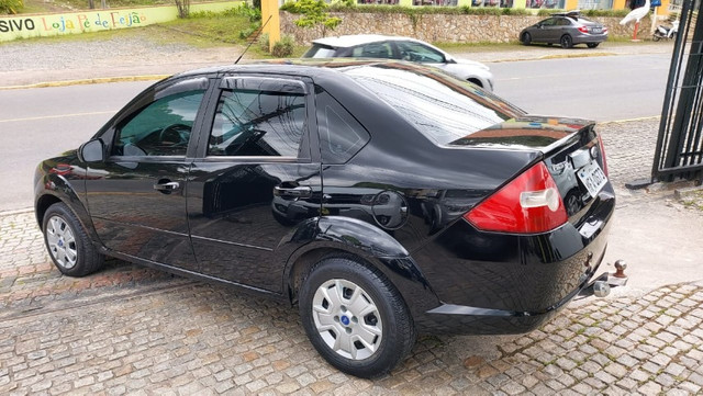 Fiesta 1.0 8v Sedan 2008 Completo - Foto 4