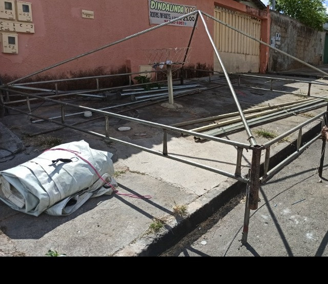 Lonas Pramides cobertura e Laterais usadas p tendas Pirâmides - Foto 5