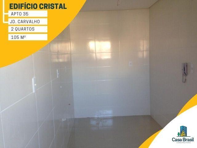 Apartamento com 2 quartos e 2 vagas para alugar em Ponta Grossa - Jardim Carvalho - Foto 10