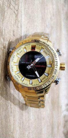 Relógio Naviforce NF 9093 c/ cx de Luxo