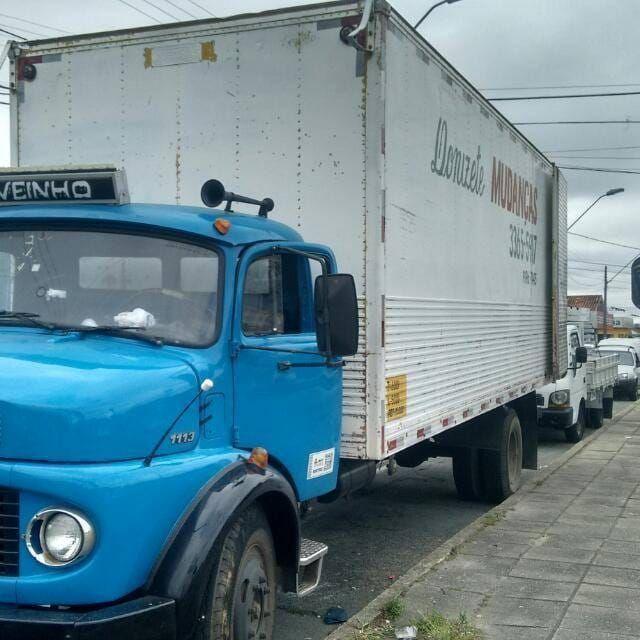Fretes e mudança caminhão baú grande 7 metros - Foto 2