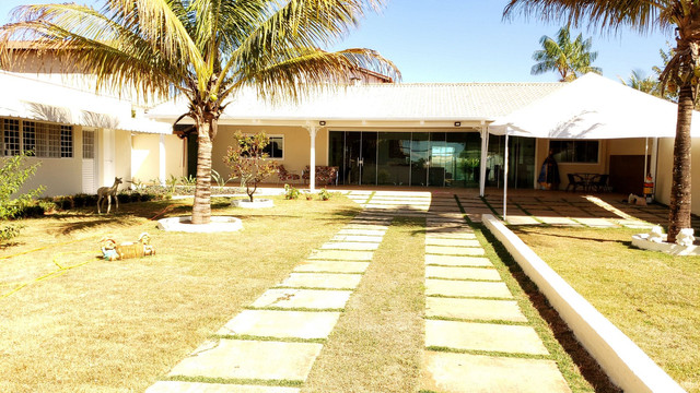 Casa uma suíte mobiliada lote 920m2 rua 10Vicente Pires condomínio lado via estrutural