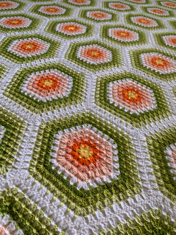 Colcha crochê | Trabalho manual - Foto 3