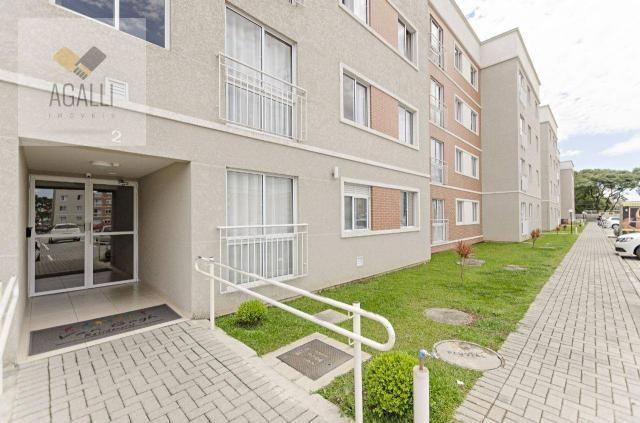 Apartamento com 2 dormitórios para alugar por R$ 1.300,00/mês - Hauer - Curitiba/PR - Foto 13