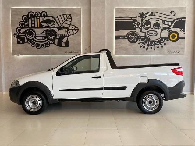 Fiat Strada 2019/2020 1.4 Hard Working cs 8V flex manual - Foto 3