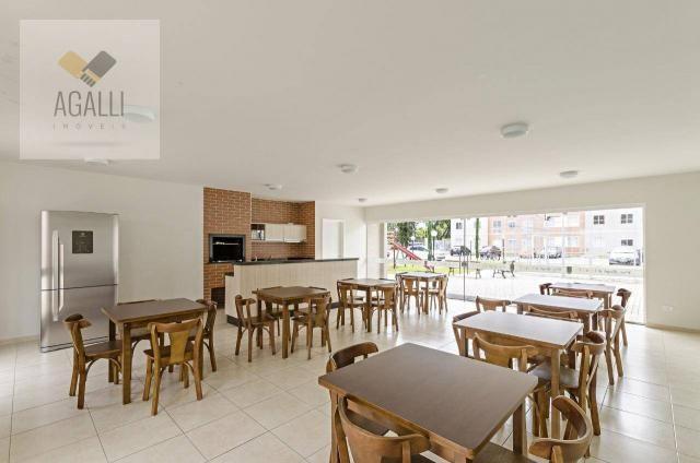Apartamento com 2 dormitórios para alugar por R$ 1.300,00/mês - Hauer - Curitiba/PR - Foto 18