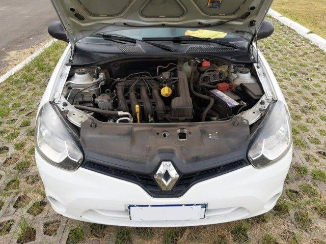 Renault Clio Expression Completo 1.0 4p 2014 Branco Novo Demais Excelente Carro - Foto 15