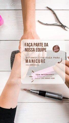 Vaga para Manicure com Experiência