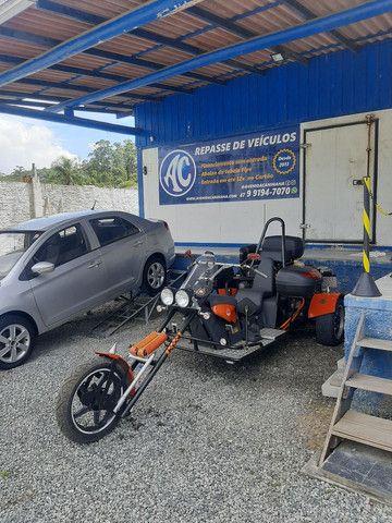 Triciclo 1600cc 2018 diferenciado exclusivo abaixo da tabela fipe 42 por 34.900