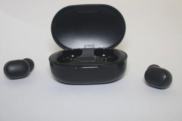 Fone de ouvido bluetooth E6s intra-Auricular TWS com display - Foto 6