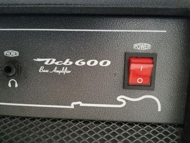 Contrabaixo + Amplificador O'Neal OCB600 (Baixo e Teclado) - Foto 3