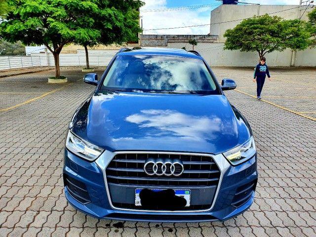 Audi q3 ambiente 2017 top de linha! Única dona  - Foto 4