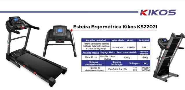 Esteira ergométrica kikos KS22021