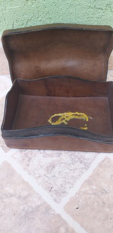 Caixa de couro - Foto 2