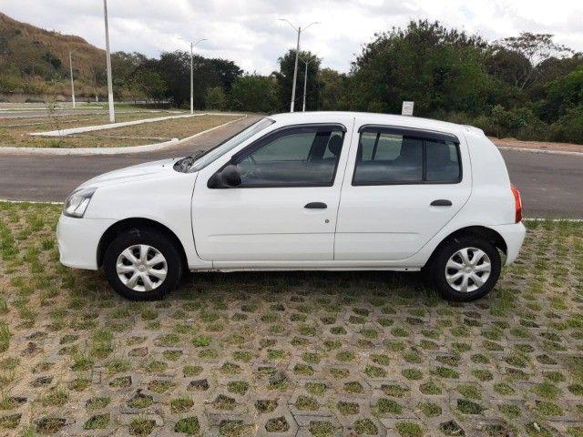 Renault Clio Expression Completo 1.0 4p 2014 Branco Novo Demais Excelente Carro - Foto 3