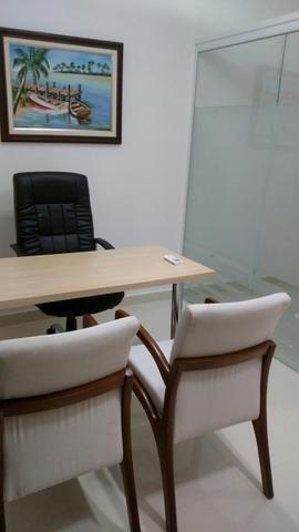 Sala mobiliada - Sublocação - Rink Alto Padrão