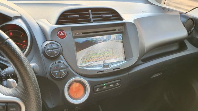 Honda Fit EX 2013 Flex Cor:Prata 40.000Km - Foto 9