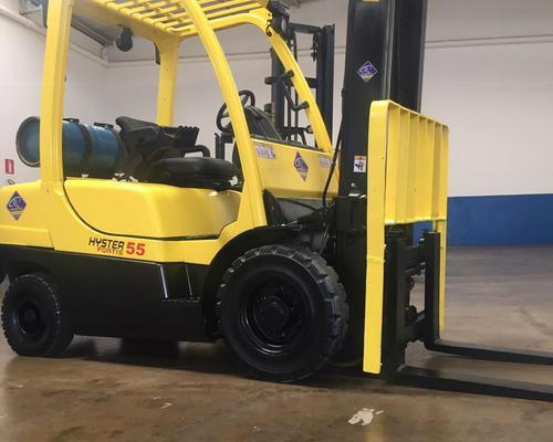 Oferta empilhadeira H50FT Hyster - 11/11 - Foto 4